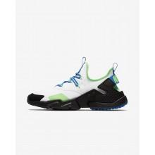 563MIJHG Miesten Lifestyle Kengät Nike Air Huarache Valkoinen/Mustat/Sininen