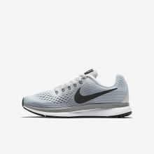 567VWQCK Nike Zoom Pegasus Running Shoes For Boys Pure Platinum/Cool Grey/Wolf Grey/Anthracite