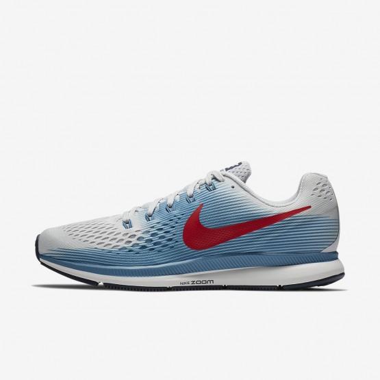 568MZGKI Nike Air Zoom Running Shoes For Men Vast Grey/Aegean Storm/Thunder Blue/University Red