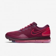 569GALRU Nike Zoom All Out Running Shoes For Women Rush Maroon/Bordeaux