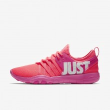 578VUACO Nike Free Trainer Training Shoes For Women Hot Punch/Pink Blast/White