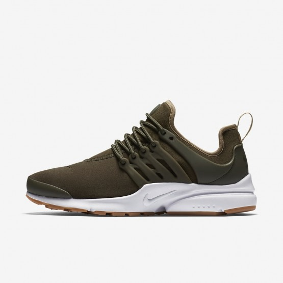 582MGHOF Nike Air Presto Lifestyle Shoes For Women Cargo Khaki/Neutral Olive/Gum Light Brown