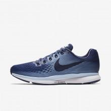 583HEVTW Nike Air Zoom Løpesko Dame Blå/Kongeblå/Svart/Obsidian