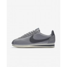 583IGJZF Zapatillas Casual Nike Classic Cortez Mujer Gris