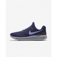 585YHOZN Nike LunarEpic Low Running Shoes For Women Dark Raisin/Deep Royal Blue/Black/Light Thistle