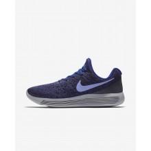 585YHOZN Naisten Juoksukengät Nike LunarEpic Low Tumman/Syvä Kuninkaallinen Sininen Sininen/Mustat/Vaalean