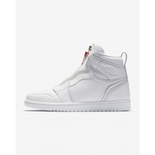 585YWVAR Air Jordan 1 Lifestyle Shoes For Women White/University Red