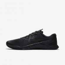 589NZFAU Nike Metcon 4 Treningssko Herre Svart