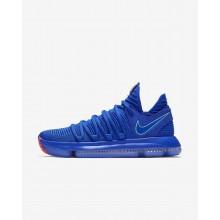 598UCEWP Nike Zoom KDX Basketball Shoes For Women Racer Blue/Black/Total Crimson/Light Menta