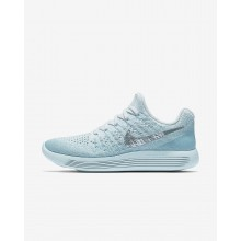 599LFOJU Nike LunarEpic Low Running Shoes For Women Glacier Blue/Polarized Blue/Wolf Grey/Metallic Silver