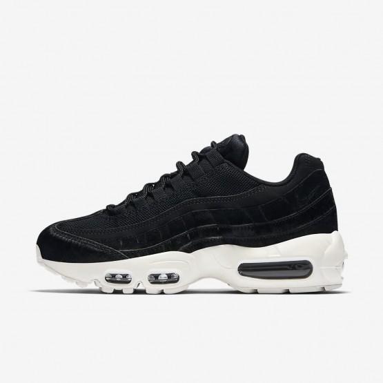 615RVTME Nike Air Max 95 Lifestyle Shoes For Women Black/Dark Grey/Sail
