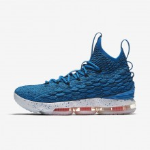 621XGWVE Nike LeBron 15 Basketball Shoes For Women Photo Blue/Total Orange/Summit White