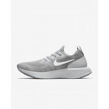 622ATPCF Nike Epic React Flyknit Koşu Ayakkabısı Bayan Gri/Gri/Platini/Beyaz