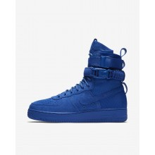 622DGJYF Nike SF Air Force 1 Lifestyle Shoes For Men Game Royal