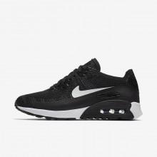 624WPRLQ Nike Air Max 90 Lifestyle Shoes For Women Black/Dark Grey/White