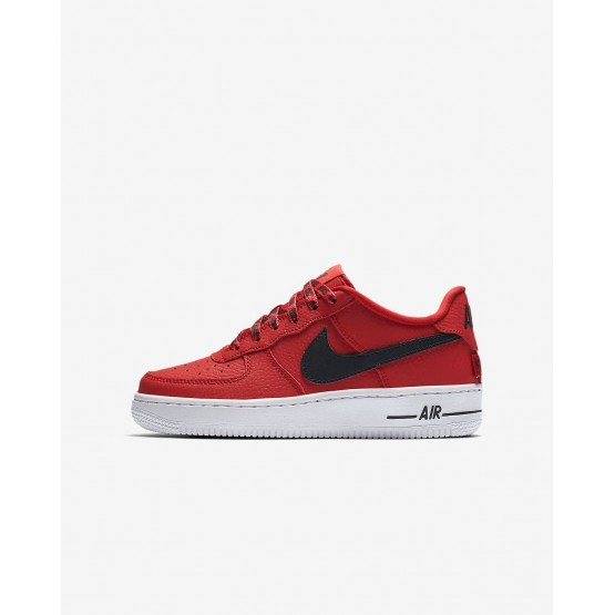 626YMGTU Nike Air Force 1 Lifestyle Shoes For Boys University Red/White/Black
