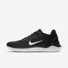 628ZEAUJ Nike Free RN Running Shoes For Women Black/White