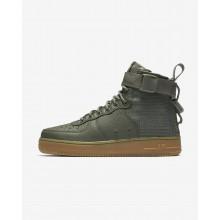 632SFHKV Nike SF Air Force 1 Lifestyle Shoes For Women Dark Stucco/Gum Light Brown