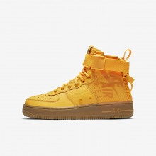 638NQXDO Zapatillas Casual Nike SF Air Force 1 Niño Naranjas/Marrones