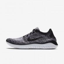 638XPGCW Nike Free RN Running Shoes For Women White/Black