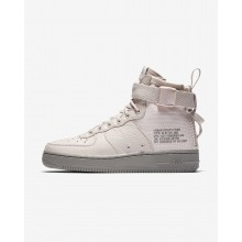 646BCJPZ Nike SF Air Force 1 Lifestyle Shoes For Women Siltstone Red/Dust