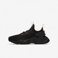 646CIXKR Nike Huarache Lifestyle Shoes For Boys Anthracite/Dark Grey/Wolf Grey