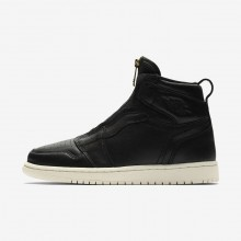 650FOIRU Air Jordan 1 Lifestyle Shoes For Women Black/University Red/Sail