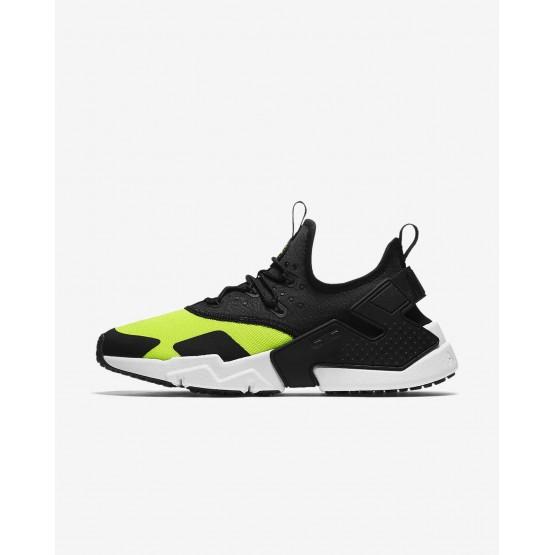 656XRMTE Nike Air Huarache Lifestyle Shoes For Men Volt/White/Black