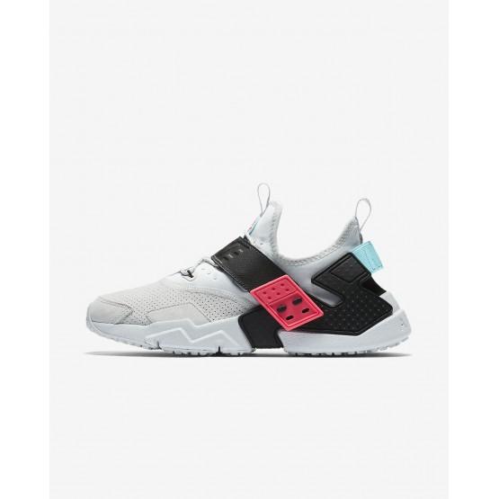 664LGFHX Nike Air Huarache Lifestyle Shoes For Men Pure Platinum/Racer Pink/Bleached Aqua/Black