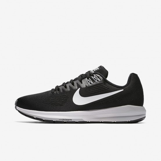668NFVCB Nike Air Zoom Running Shoes For Women Black/Wolf Grey/Cool Grey/White