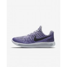 674QDIKL Naisten Juoksukengät Nike LunarEpic Low Harmaat/Violetit/Tumman/Mustat