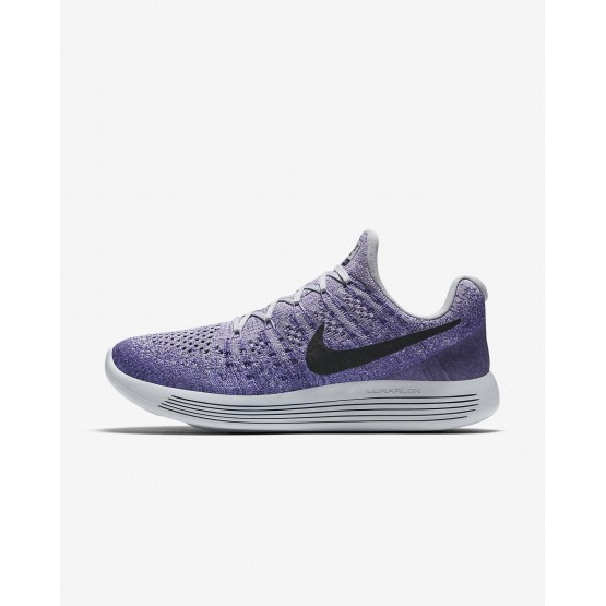 674QDIKL Nike LunarEpic Low Running Shoes For Women Wolf Grey/Purple Earth/Dark Raisin/Black