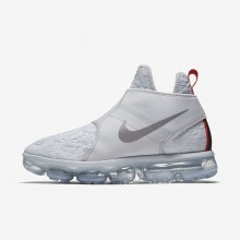 708NFZIY Nike Air VaporMax Lifestyle Shoes For Men Pure Platinum/White/Team Orange/Reflect Silver
