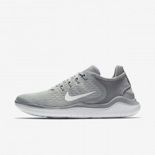 708QRTAI Nike Free RN Running Shoes For Women Wolf Grey/White/Volt