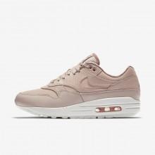 715RHIES Naisten Lifestyle Kengät Nike Air Max 1 Beige/Pinkki/Valkoinen
