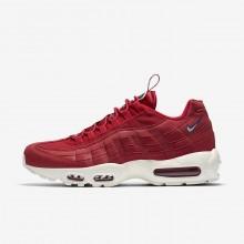 725IZGLU Nike Air Max 95 Lifestyle Shoes For Men Gym Red/Gym Blue/Sail