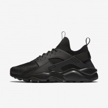 727JBISE Nike Air Huarache Lifestyle Shoes For Men Black