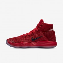 733IFWJX Nike React Hyperdunk 2017 Basketball Shoes For Women University Red/Reflect Silver