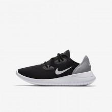 734CIVMR Nike Hakata Lifestyle Shoes For Boys Black/Wolf Grey/White
