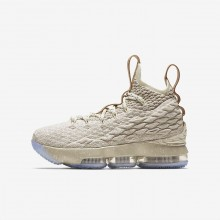 751DKOUE Nike LeBron 15 Basketsko Gutt Metal Gull