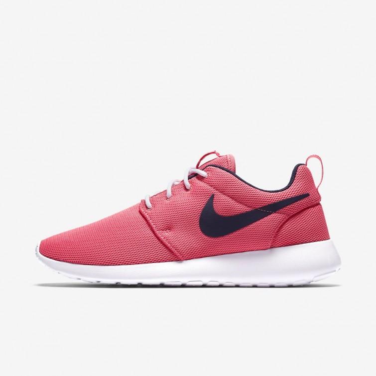 Nike Roshe One Sko På Nett, Nike Livsstil Sko Dame Korall