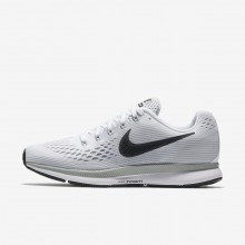 756XAKQT Nike Air Zoom Running Shoes For Women White/Pure Platinum/Wolf Grey/Anthracite