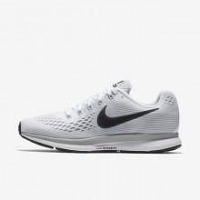 756XAKQT Nike Air Zoom Løpesko Dame Hvite/Platina/Grå