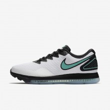 767OQFLX Nike Zoom All Out Løpesko Herre Hvite/Svart
