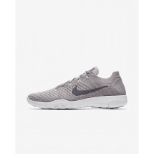 775UDIWM Nike Free TR Training Shoes For Women Atmosphere Grey/White/Gunsmoke