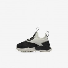 777DYGIT Nike Huarache Lifestyle Shoes For Girls Black/White/Sail