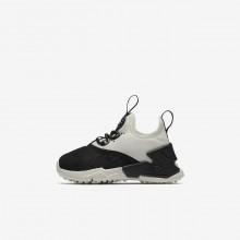 777DYGIT Zapatillas Casual Nike Huarache Niña Negras/Blancas