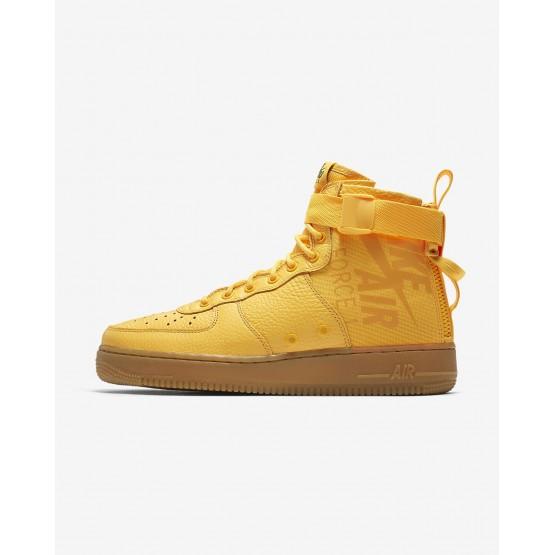 781DUTGQ Nike SF Air Force 1 Lifestyle Shoes For Men Laser Orange/Black