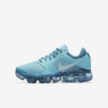 784EIGZS Nike Air VaporMax Running Shoes For Boys Bleached Aqua/Noise Aqua/Glacier Blue