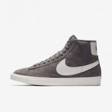 789CWIVL Nike Blazer Mid Lifestyle Shoes For Women Gunsmoke/Sail/Black